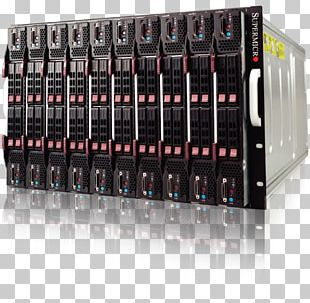 Disk Array Computer Servers Dell Blade Server 19-inch Rack PNG