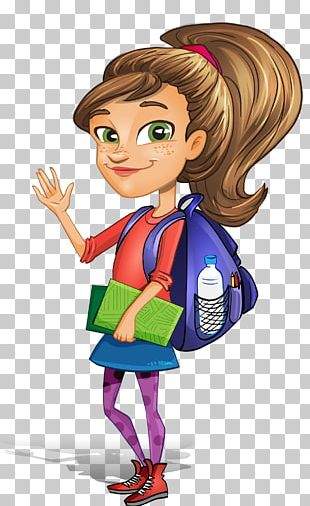 Student Cartoon PNG