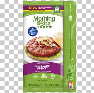 Veggie Burger MorningStar Farms Grillers Prime Hamburger Morningstar Farms Garden Veggie Patties Vegetarian Cuisine PNG
