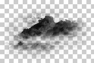 Gaussian Blur Drawing Bird PNG