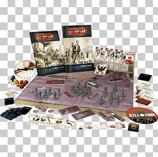 The Walking Dead Miniature Wargaming Board Game PNG