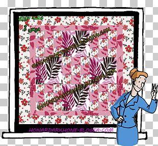 Floral Design Window Frames Pattern PNG