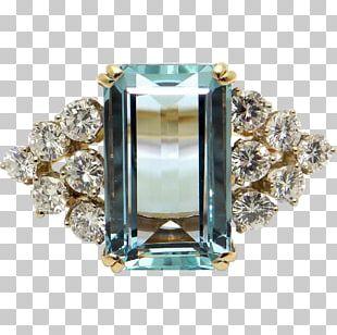 Ring Jewellery Emerald Gold Diamond Cut PNG