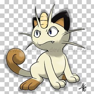 Whiskers Cat Meowth Pokémon Sun And Moon Pikachu PNG