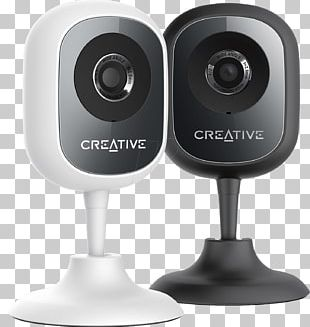 IP Camera Video Cameras Creative Labs Kamera IP Smart HD HD Webcam 1280 X 720 Pix Creative LIVE CAM SYNC HD 720P Stand PNG