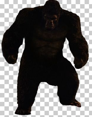 Gorilla Grodd Trickster Ape King Kong PNG