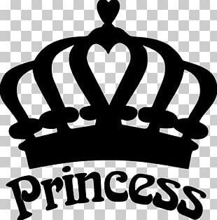 Silhouette Crown Disney Princess Tiara PNG