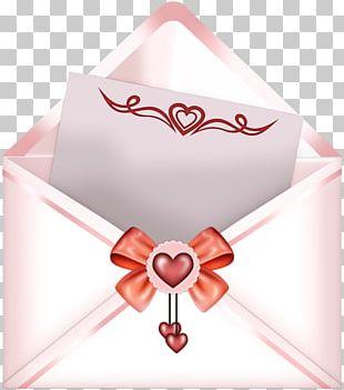 Paper Envelope Love Letter PNG