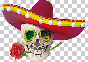Calavera Cinco De Mayo Mexican Cuisine Stock Photography PNG
