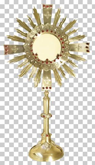 Monstrance Eucharist Liturgy Corpus Christi Sacramental Bread PNG