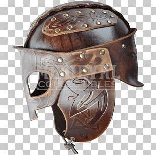Leather Helmet Viking Leather Helmet Firefighter's Helmet PNG