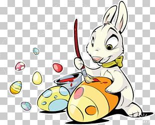 Easter Bunny Easter Egg Rabbit PNG