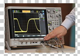 Printed Circuit Board Electronics Oscilloscope Electronic Engineering Measuring Instrument PNG