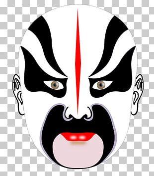 Beijing Peking Opera Mask Chinese Opera PNG
