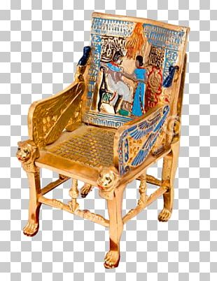 Ancient Egypt Chair Throne Egyptian Language PNG