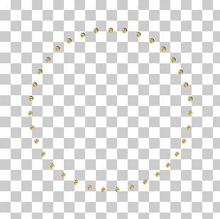 Circle Area White Pattern PNG