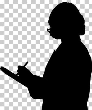 Substitute Teacher Silhouette PNG