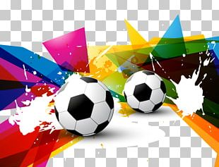 Graphic Design Football Illustration PNG
