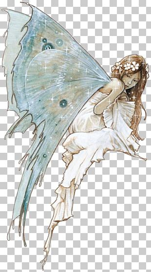 The Fairy With Turquoise Hair Drawing Fairy Tale Fairy Painting PNG