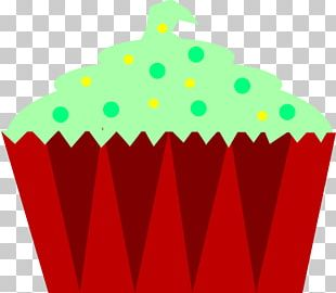 Christmas Cupcakes Birthday Cake Muffin PNG