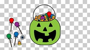 Halloween Candy Trick-or-treating Party PNG