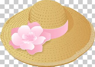 Sun Hat Straw Hat PNG