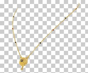 Necklace Orra Jewellery Gold Mangala Sutra PNG