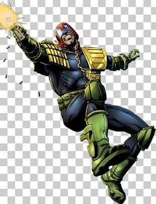 Judge Dredd Judge Anderson Superhero Comics PNG