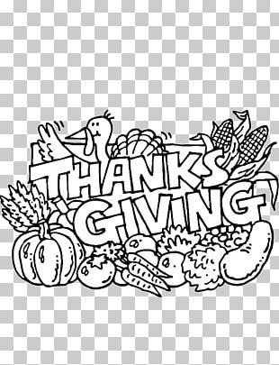 Coloring Book Thanksgiving Turkey Adult Pilgrim PNG