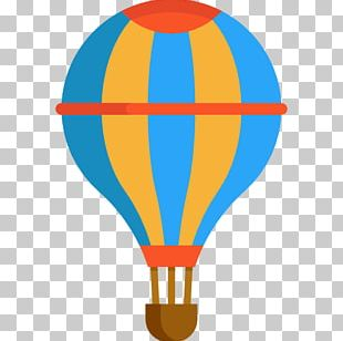 Hot Air Balloon Flight Computer Icons PNG