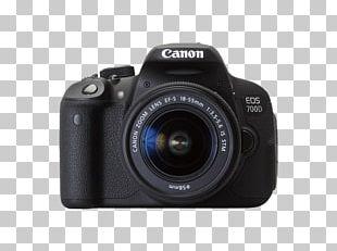 Canon EOS 700D Digital SLR Canon EF-S 18–55mm Lens Camera PNG