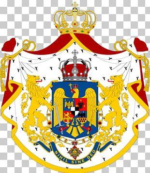 Kingdom Of Romania Coat Of Arms Of Romania Flag Of Romania PNG