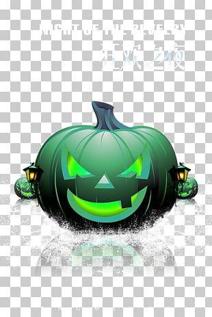 Halloween Pumpkin Jack-o'-lantern Poster PNG