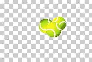 Tennis Ball Logo Art PNG