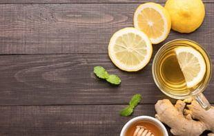 Ginger Tea Coffee Green Tea Detoxification PNG
