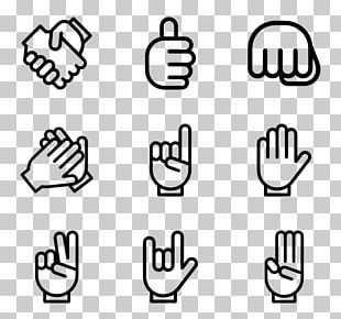 Finger Thumb Signal Computer Icons PNG