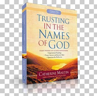 Trusting In The Names Of God Book PNG