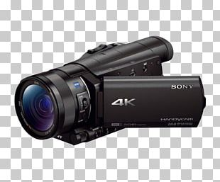 Video Cameras 4K Resolution Sony Camcorders PNG