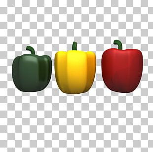 Bell Pepper Chili Pepper Apple PNG