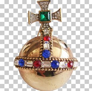 Coronation Of Queen Elizabeth II Globus Cruciger Sceptre Crown PNG