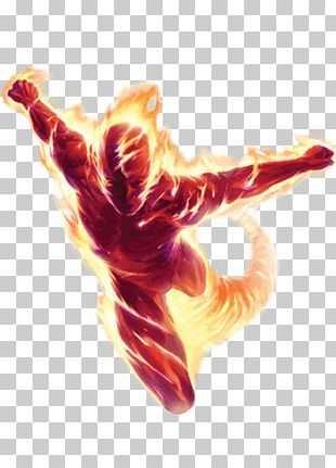 Human Torch Flames PNG