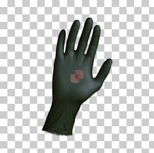 Medical Glove Nitrile Rubber Disposable PNG
