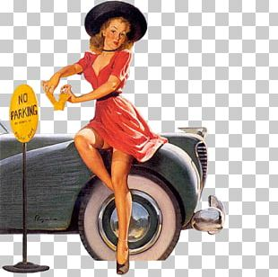Pin-up Girl 1930s Artist PNG