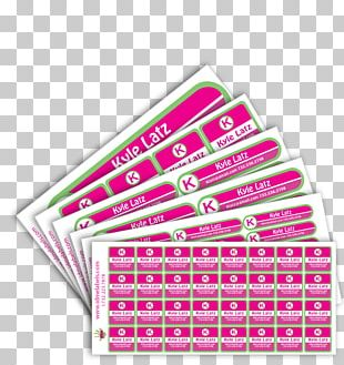 Sticker Label Name Tag Printing Wall Decal PNG