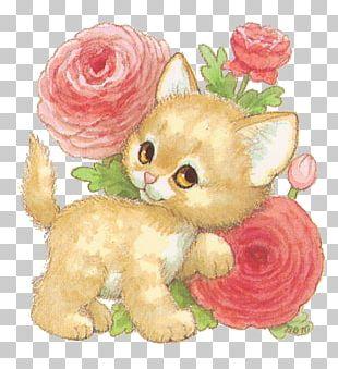 Kitten Cat Painting Art PNG
