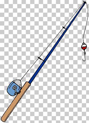 Fishing Rod Cartoon PNG