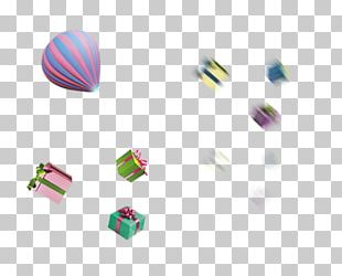 Gift Hot Air Balloon PNG