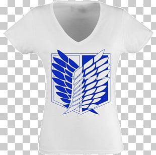 T-shirt A.O.T.: Wings Of Freedom Armin Arlert Attack On Titan Mikasa Ackerman PNG