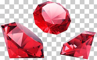 Red Diamonds PNG