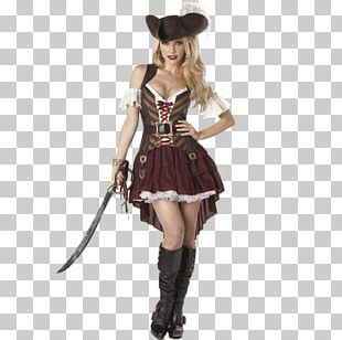 Halloween Costume Piracy Woman Clothing PNG